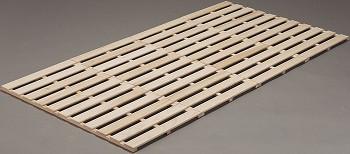 折りたたみすのこベッド ロータイプ『『桐天然木四つ折りすのこ』
