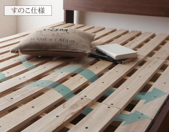 すのこベッドのすのこ床板