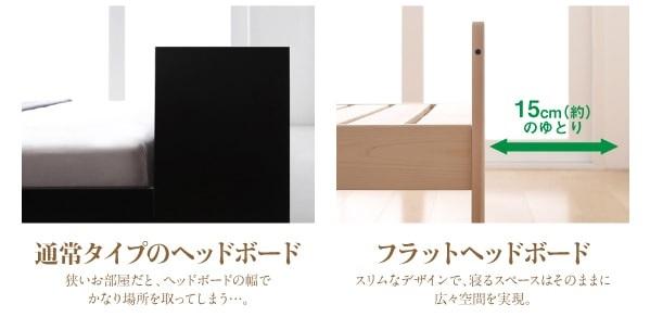 収納ベッドシングル通販 シンプル収納ベッド『高さ調節できる純国産シンプル檜天然木すのこベッド【BOSQUE】ボスケ』
