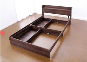 収納ベッドシングル通販 大容量で格安な収納ベッド『チェスト(収納)ベッド【CONCIERA】コンシェラ』