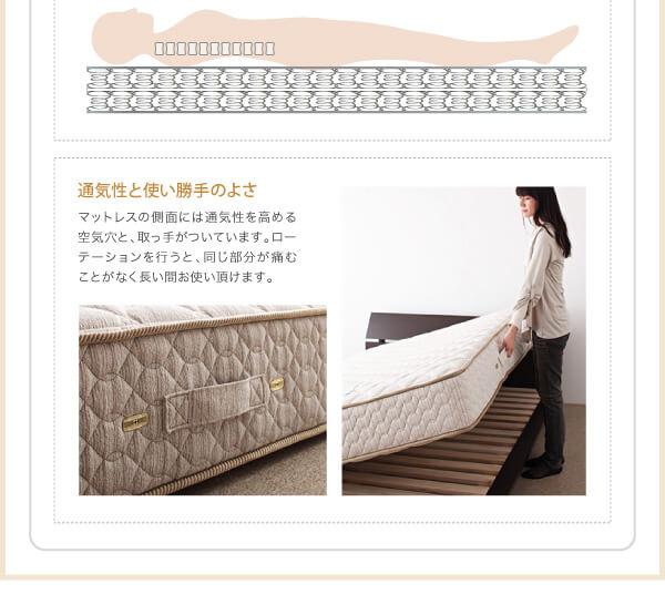 低いベッド通販『モダンデザインベッド【Dormirl】ドルミール』