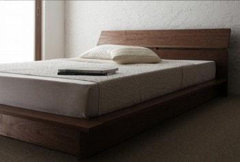 フロアタイプのすのこベッド『モダンデザインフロアベッド【Euras】ユウラス』
