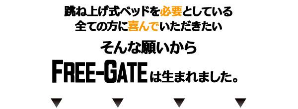 収納ベッドシングル通販『らくらく搬入_棚・コンセント_ガス圧式跳ね上げベッド【Free-Gate】フリーゲート』