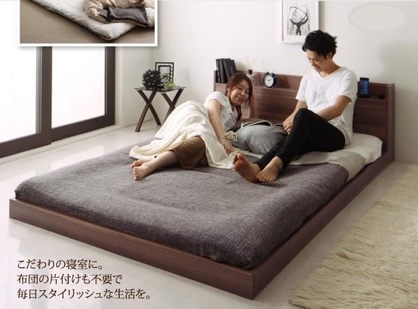 布団を敷いて使える安くて丈夫なベッド