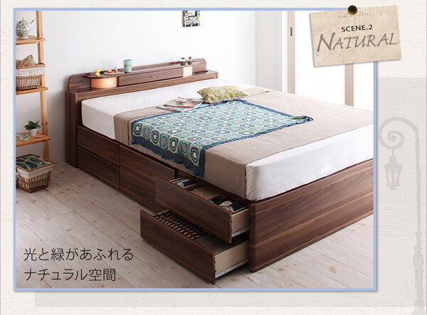 収納ベッド シングル【Infinita】インフィニタ
