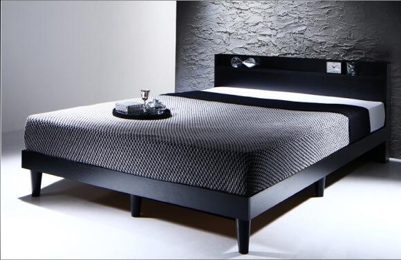 インダストリアル収納ベッド