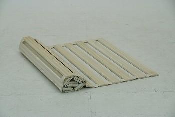 ロール式すのこ床板 シングルサイズ 木製(桐) RB-100