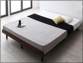 シンプルベッドフレーム通販『デザインすのこベッド【Resty】リスティー』フルレイアウトベッド