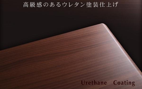 収納ベッドシングル通販 ウレタン塗装仕上げの収納ベッド