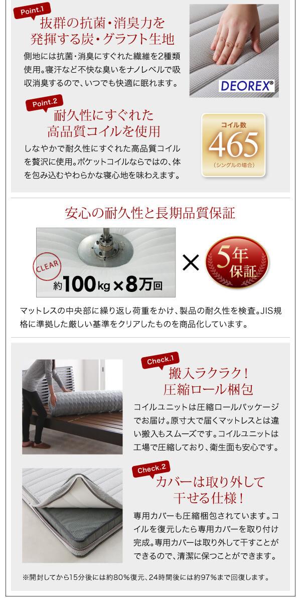 低いベッド通販『頑丈デザインすのこベッド【T-BOARD】ティーボード』