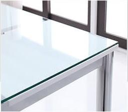 おしゃれなガラスダイニングテーブル『ガラスデザインダイニング【De modera】ディ・モデラ ワイド』