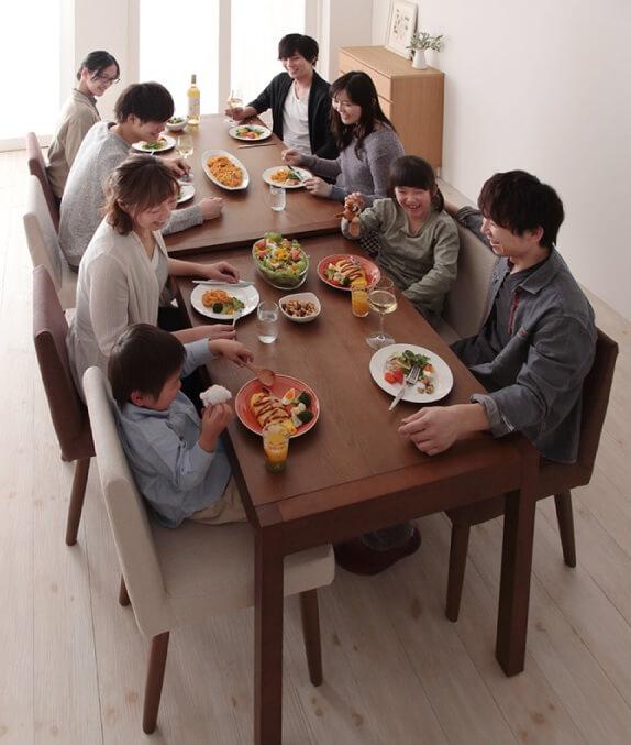 8人用ダイニングテーブル