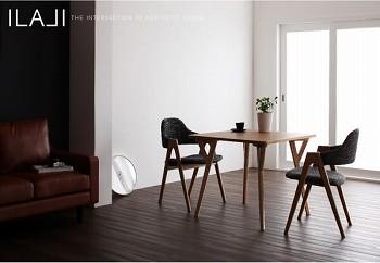 ダイニングテーブル通販 2人用があるダイニングテーブル『北欧モダンデザインダイニング【ILALI】イラーリ』