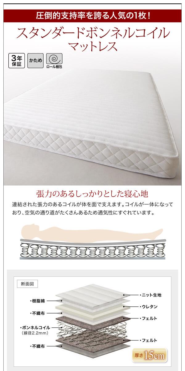 シンプル ベッドフレーム通販『北欧デザインベッド【Kaleva】カレヴァ』