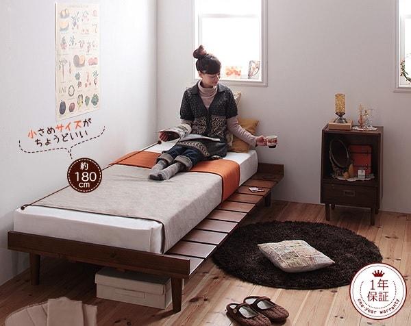 ショート丈ベッド バナー