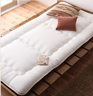 ショート丈ベッド『ショート丈北欧デザインベッド【Niels】ニエル』
