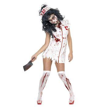 怖いハロウィン仮装屋通販『【コスプレ】Zombie Nurse Costume S 大人用 S』