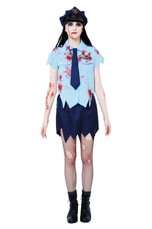 怖いハロウィン仮装屋通販『【コスプレ】 ブラッディーポリス レディース』