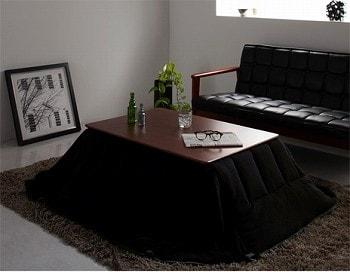 おススメのこたつ『自分だけのこたつ&テーブルスタイル!天然木カスタムデザインこたつローテーブル【Toluca】トルカ』