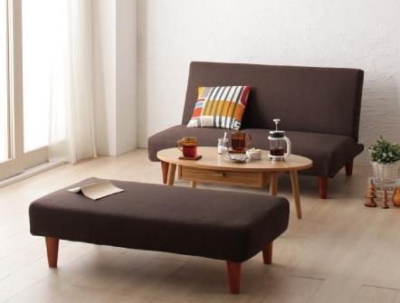 女性ならソファーベッドとして使えるカモの『マルチレイアウトリクライニングソファベッド【Creil】クレイユ』