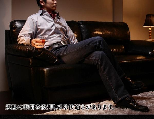 モダンソファー通販 黒いソファー『シンプルモダンデザインソファ【Governor】ガバナー』