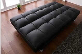 溝が気になって寝心地がよくないソファーベッド