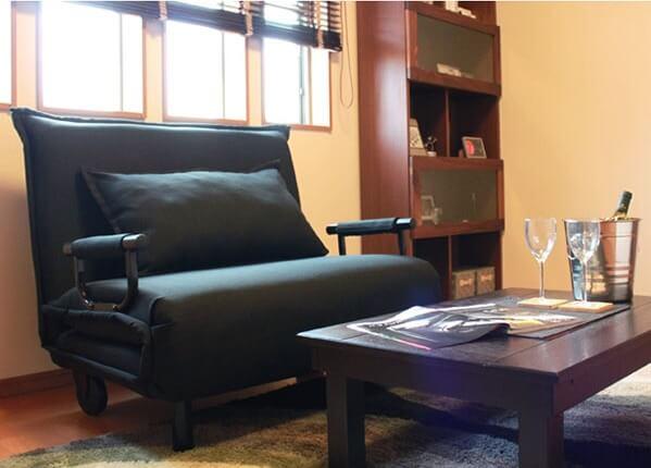 一人暮らしのソファーベッドにおススメ『折りたたみソファーベッド【VITA_Active】ビータアクティブ』
