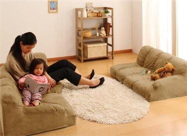 子供に安全なソファー
