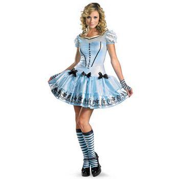 大きいハロウィン仮装屋通販『disguise Alice In Wonderland Movie / Sassy Blue Dress Alice 12-14 アリスインワンダーランド アリス』