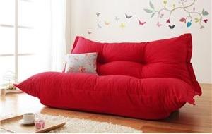 『赤いソファー通販』赤いソファーのあるカジュアルスタ否暮らし
