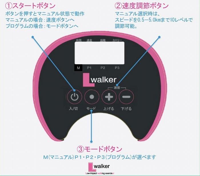 『電動ウォーキングマシン 「エルウォーカー」』